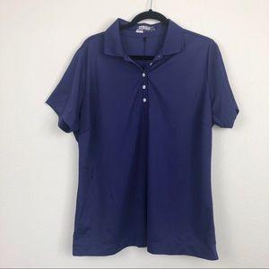 Nike Golf Purple Polo Dri Fit Shirt